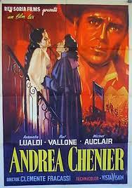 locandina del film ANDREA CHENIER