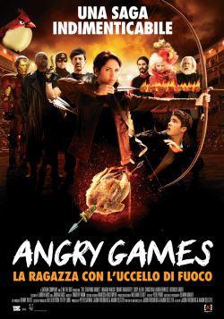 locandina del film ANGRY GAMES - LA RAGAZZA CON L'UCCELLO DI FUOCO