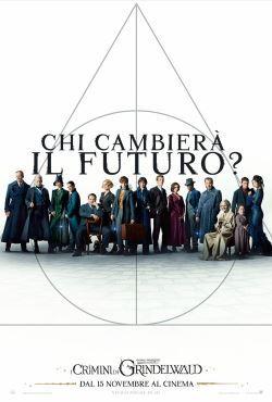 locandina del film ANIMALI FANTASTICI: I CRIMINI DI GRINDELWALD