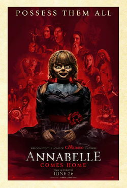 locandina del film ANNABELLE 3