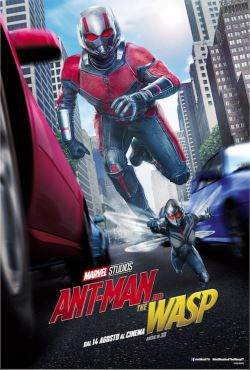 locandina del film ANT-MAN AND THE WASP