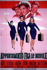 locandina del film APPUNTAMENTO FRA LE NUVOLE