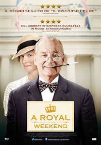 locandina del film A ROYAL WEEKEND
