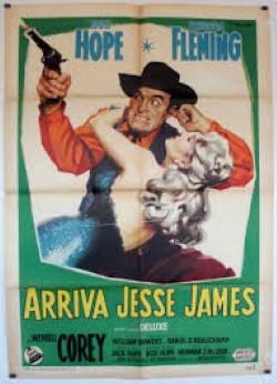 locandina del film ARRIVA JESSE JAMES