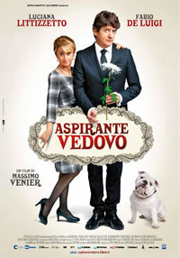 locandina del film ASPIRANTE VEDOVO
