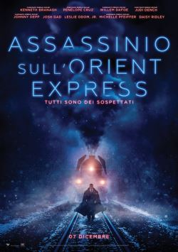 locandina del film ASSASSINIO SULL'ORIENT EXPRESS (2017)