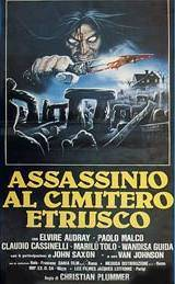 locandina del film ASSASSINIO AL CIMITERO ETRUSCO
