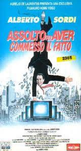 locandina del film ASSOLTO PER AVER COMMESSO IL FATTO