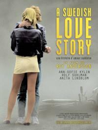 locandina del film A SWEDISH LOVE STORY