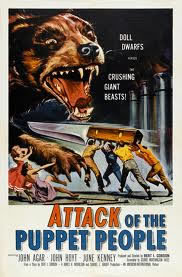 locandina del film ATTACK OF THE PUPPET PEOPLE