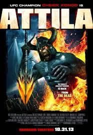 locandina del film ATTILA