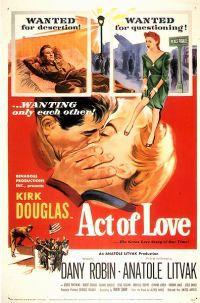 locandina del film ATTO D'AMORE (1953)