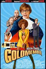 locandina del film AUSTIN POWERS IN GOLDMEMBER