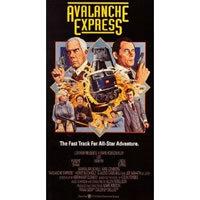 locandina del film AVALANCHE EXPRESS