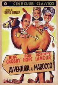 locandina del film AVVENTURA AL MAROCCO