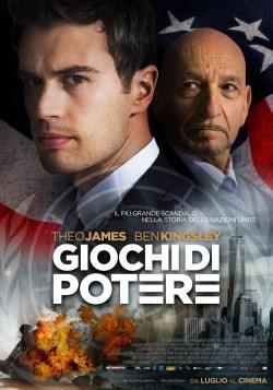 locandina del film GIOCHI DI POTERE (2018)