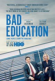 locandina del film BAD EDUCATION