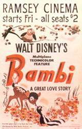 locandina del film BAMBI