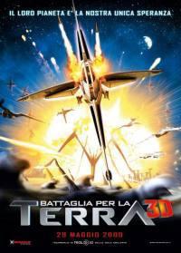 locandina del film BATTAGLIA PER LA TERRA 3D