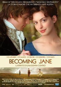 locandina del film BECOMING JANE - IL RITRATTO DI UNA DONNA CONTRO
