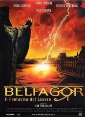 locandina del film BELFAGOR - IL FANTASMA DEL LOUVRE