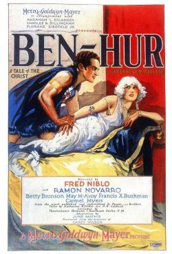 locandina del film BEN-HUR (1925)