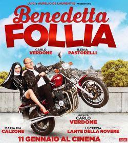 locandina del film BENEDETTA FOLLIA