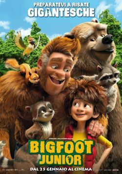 locandina del film BIGFOOT JUNIOR
