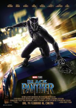 locandina del film BLACK PANTHER