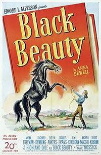 locandina del film BLACK BEAUTY (1946)
