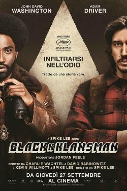 locandina del film BLACKKKLANSMAN