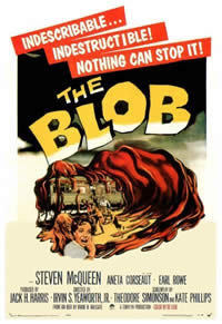 locandina del film BLOB - FLUIDO MORTALE