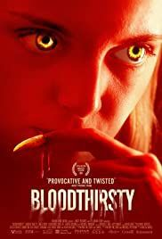 locandina del film BLOODTHIRSTY