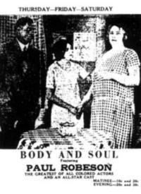locandina del film BODY AND SOUL