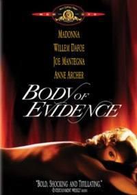 locandina del film BODY OF EVIDENCE - IL CORPO DEL REATO