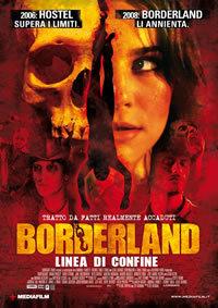 locandina del film BORDERLAND - LINEA DI CONFINE