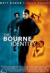 locandina del film THE BOURNE IDENTITY