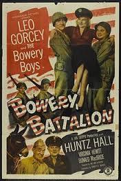 locandina del film BOWERY BATTALION