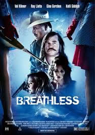 locandina del film BREATHLESS (2012)