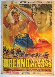 locandina del film BRENNO IL NEMICO DI ROMA