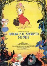 locandina del film BRISBY E IL SEGRETO DI NIMH