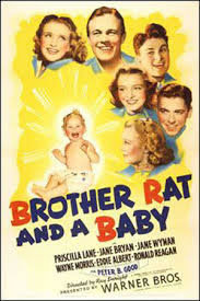 locandina del film BROTHER RAT AND A BABY