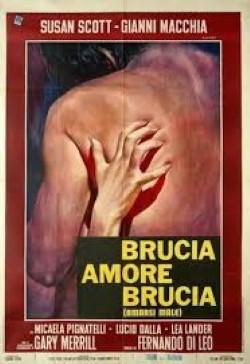 locandina del film BRUCIA AMORE BRUCIA