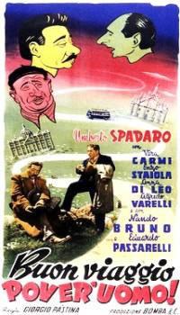locandina del film BUON VIAGGIO POVER'UOMO!