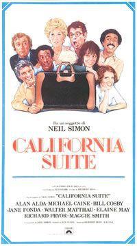 locandina del film CALIFORNIA SUITE