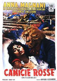 locandina del film CAMICIE ROSSE