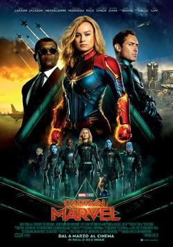 locandina del film CAPTAIN MARVEL
