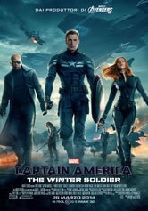 locandina del film CAPTAIN AMERICA - THE WINTER SOLDIER