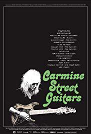 locandina del film CARMINE STREET GUITARS