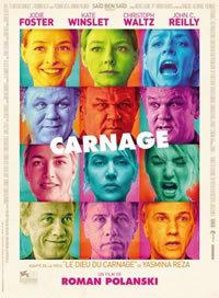 locandina del film CARNAGE (2011)